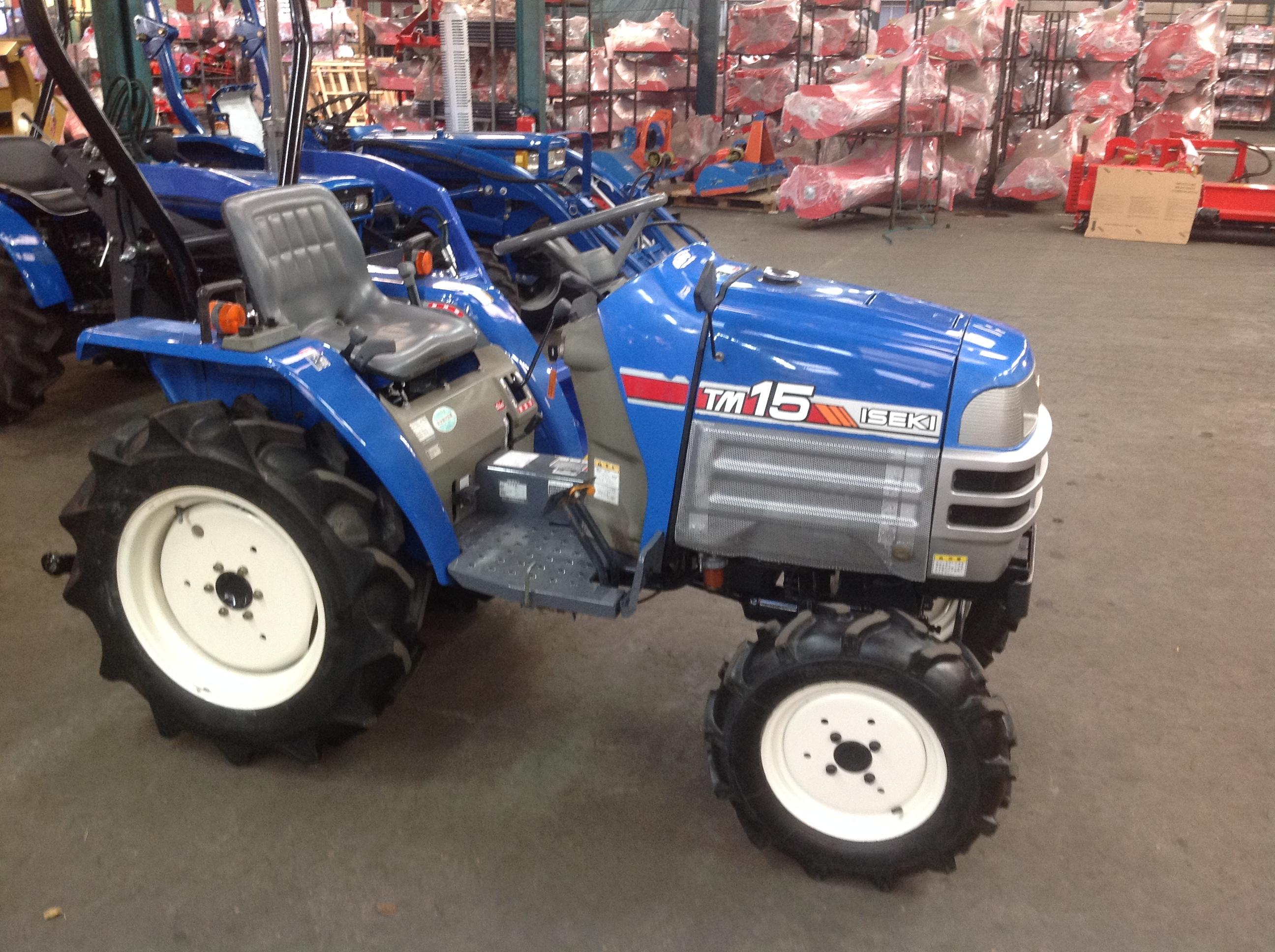 Jp france tracteur iseki tm15 4rm 750cm3 16cv jpl tracteurs et microtracteurs tracteurs - Mini tracteur tondeuse ...