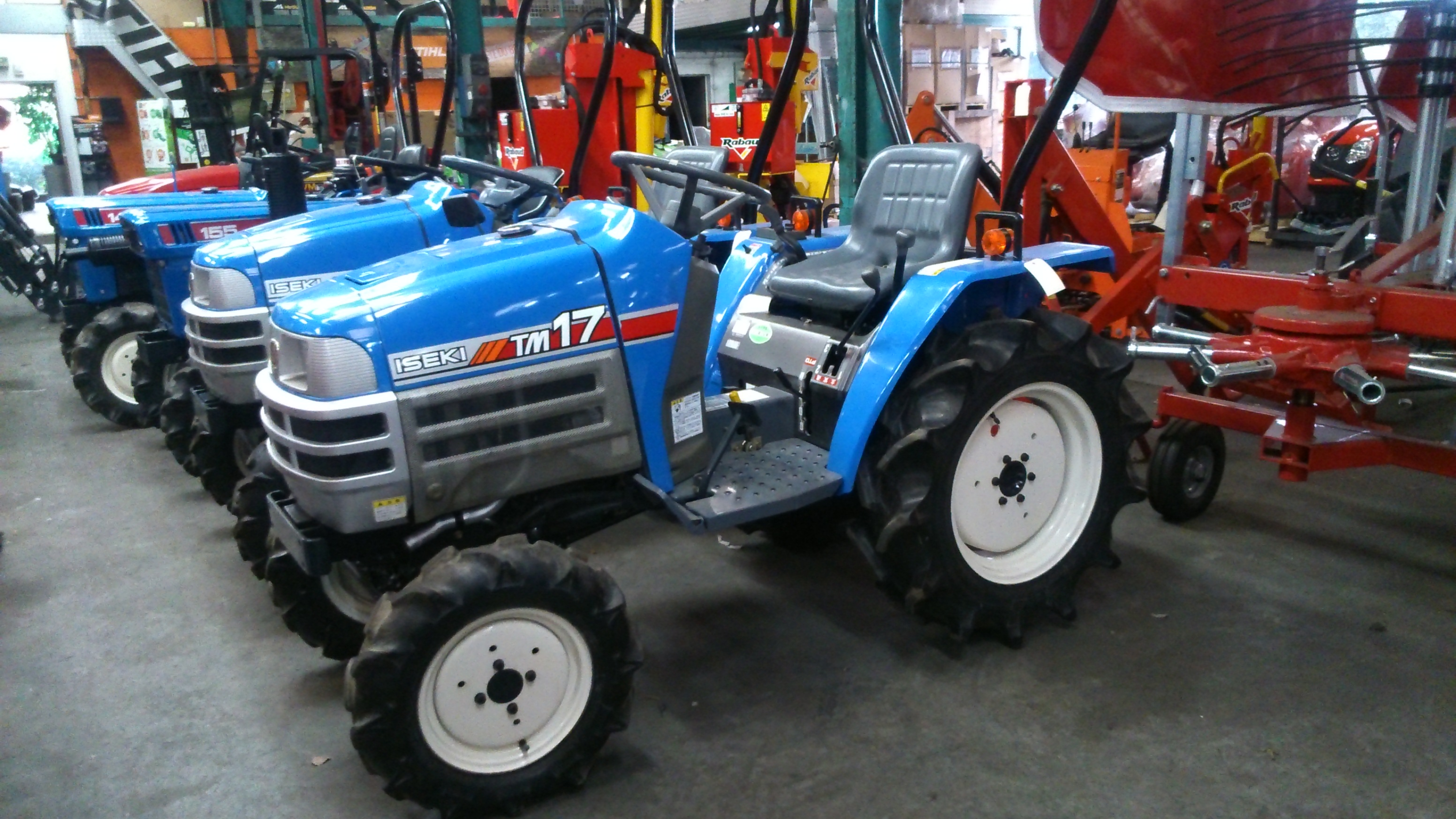 jp france tracteur iseki tm17 4rm 18cv jpl tracteurs et microtracteurs tracteurs et. Black Bedroom Furniture Sets. Home Design Ideas