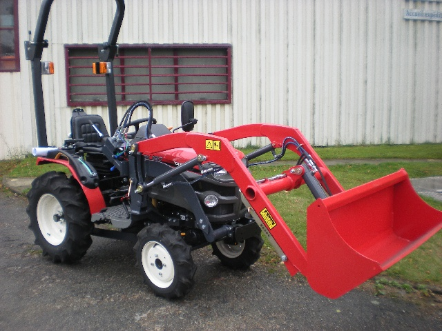 jp france - microtracteur yanmar 16 cv  850 cm3