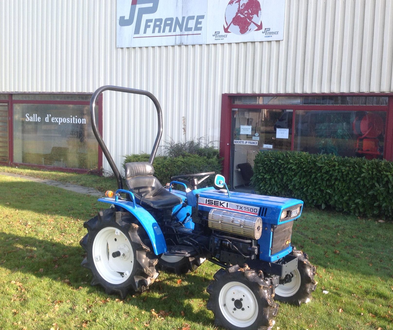 jp france tracteur iseki tx13 1500 4 rm 14 15cv jpl tracteurs et microtracteurs. Black Bedroom Furniture Sets. Home Design Ideas
